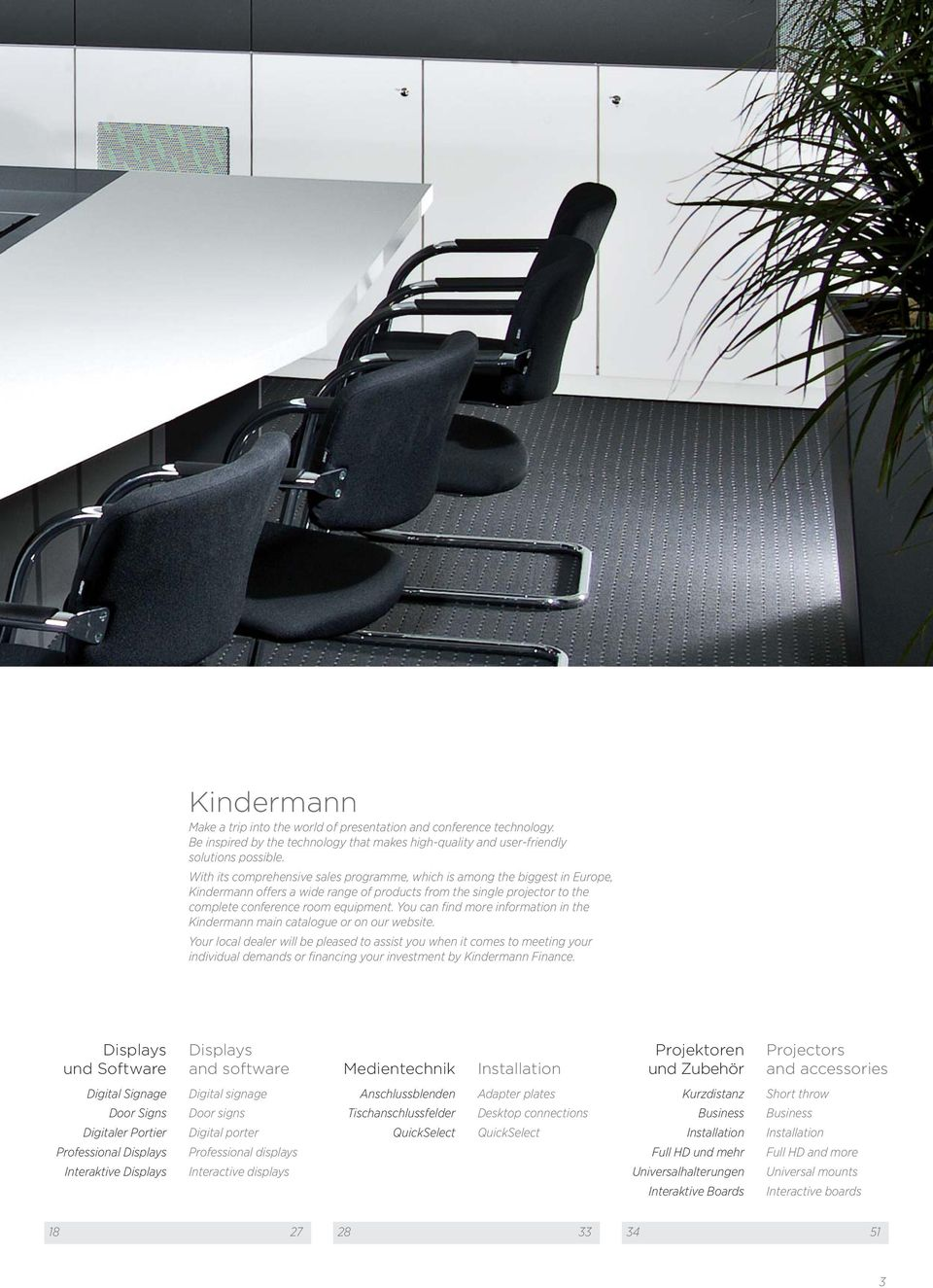 You can find more information in the Kindermann main catalogue or on our website.