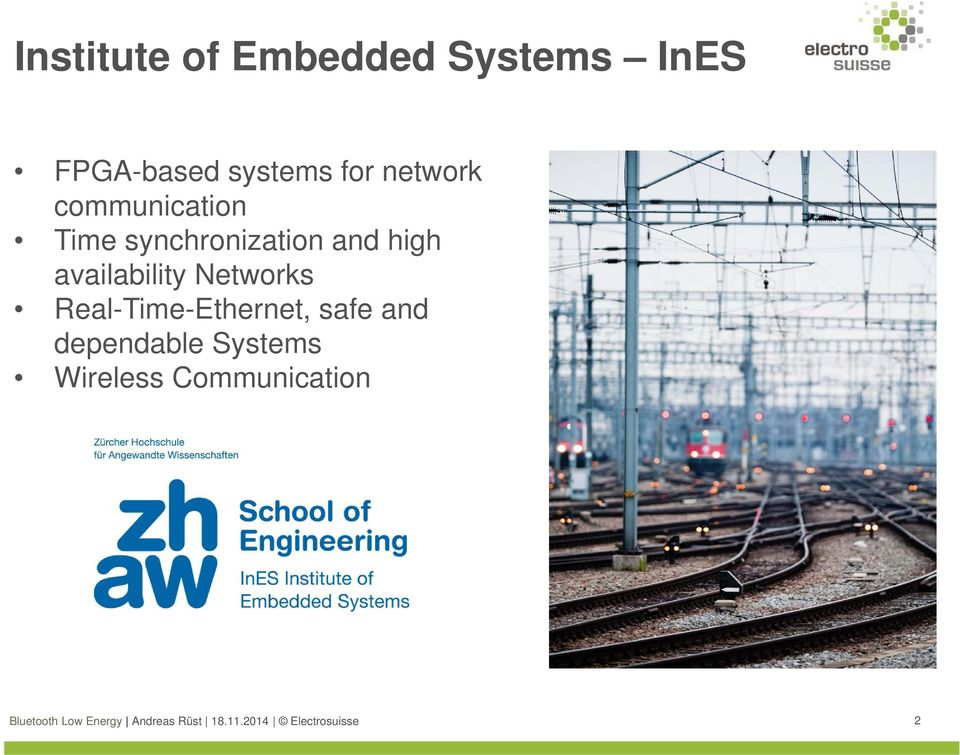 synchronization and high availability Networks