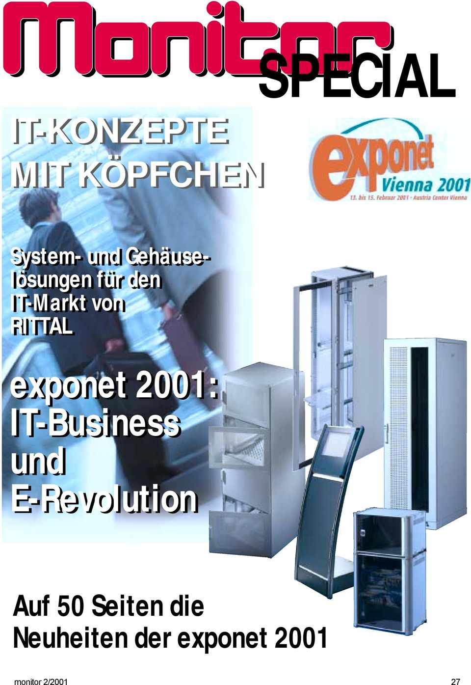 exponet 2001: IT-Business und E-Revolution Auf