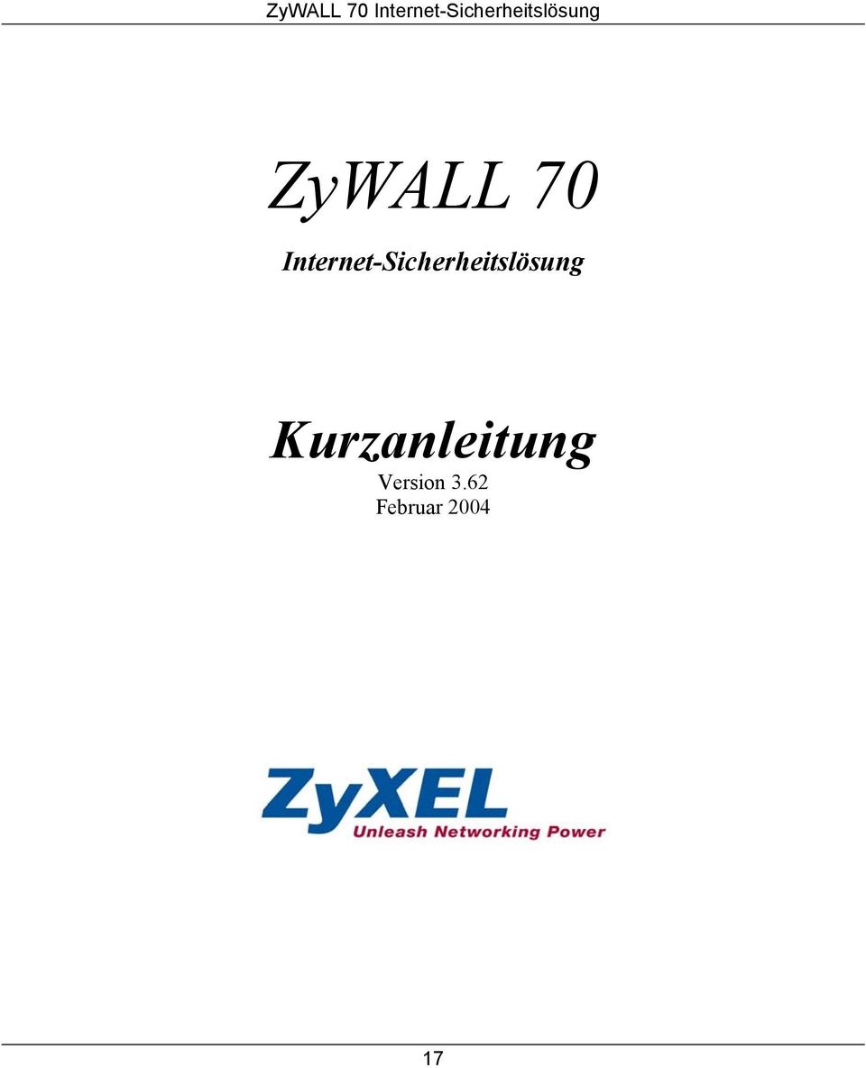 Kurzanleitung Version 3.