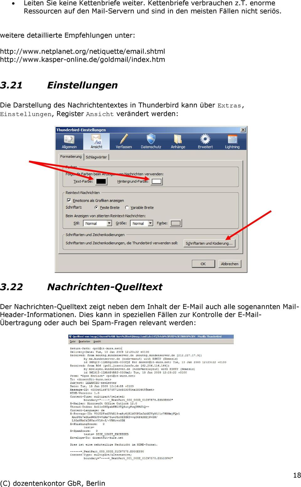 sprache thunderbird einstellen