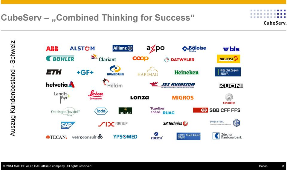 Success 2014 SAP SE or an SAP