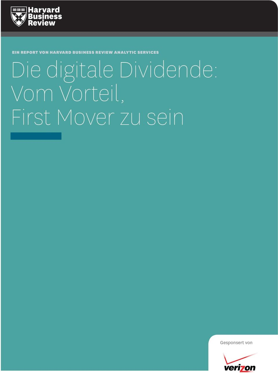 digitale Dividende: Vom