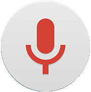 Voice Recorder The Voice Recorder app records audible files for you to use in a variety of ways. Recording a sound or voice 1 Tap > >. 2 Tap to begin recording. 3 Tap to end the recording.