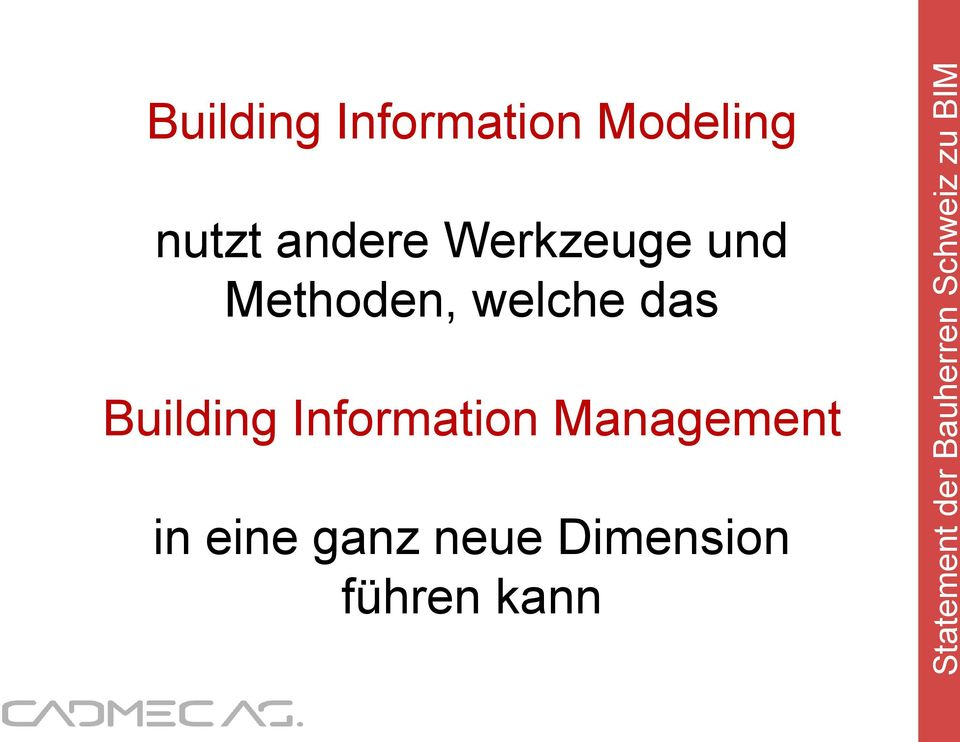 das Building Information Management