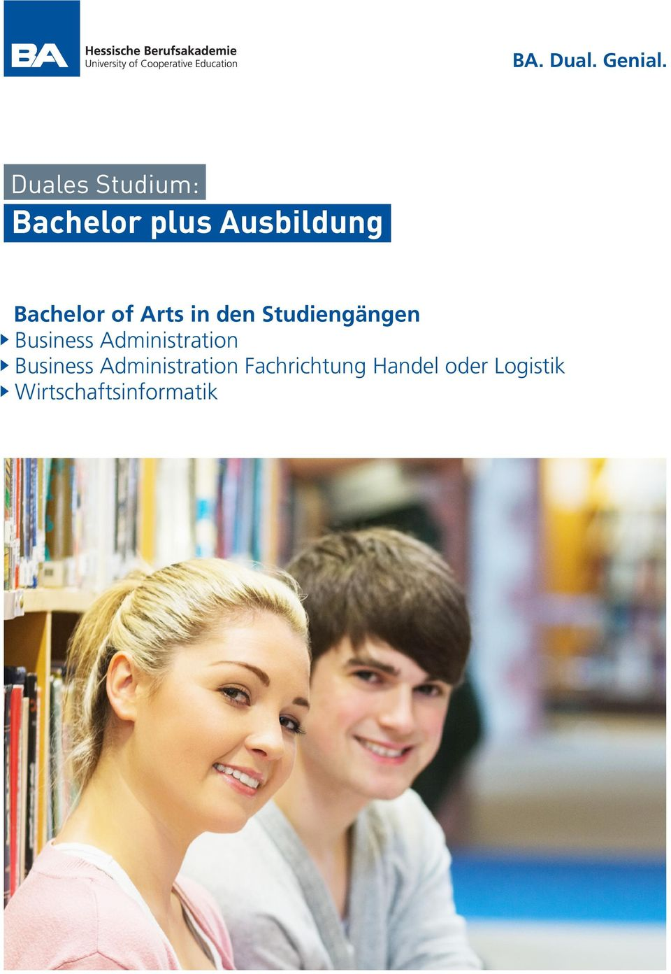 of Arts in den Studiengängen Business