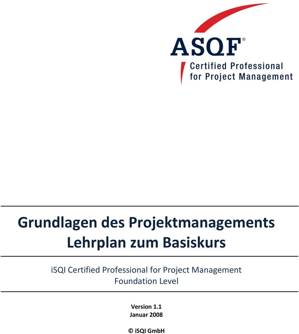 Professional for Project Management