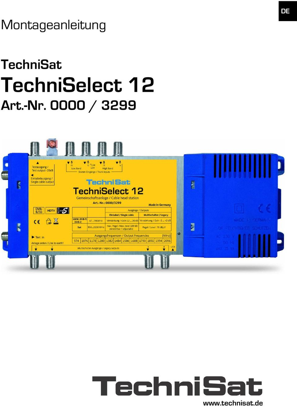 TechniSelect 12 Art.