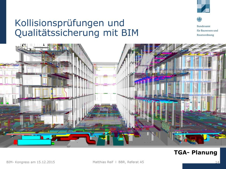 Planung BIM- Kongress am 15.12.