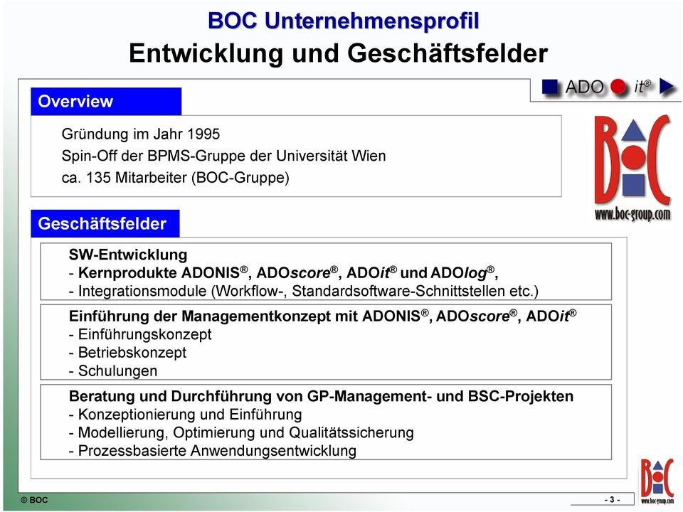 Standardsoftware-Schnittstellen etc.