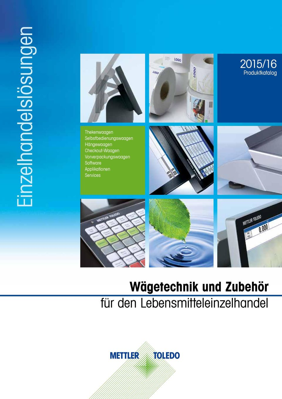 Vorverpackungswaagen Software Applikationen Services