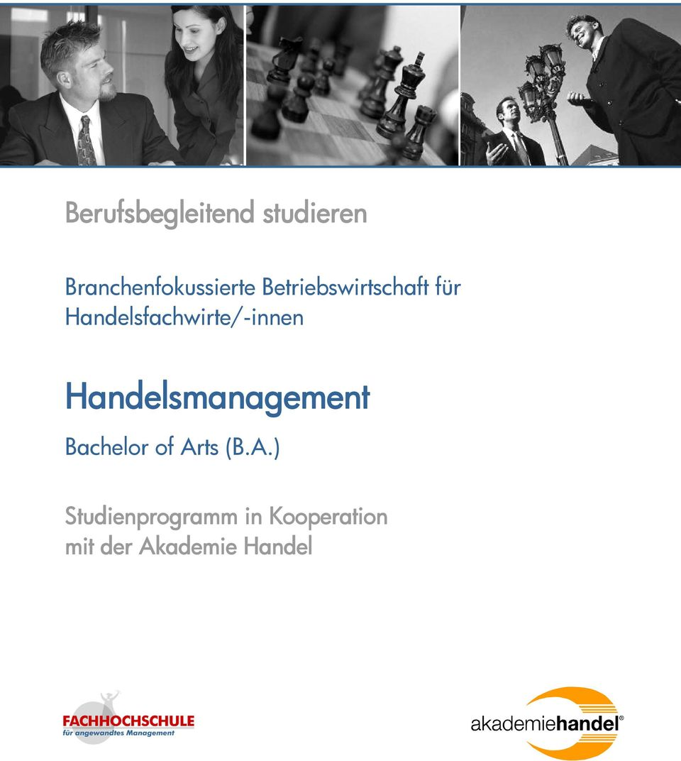Handelsmanagement Bachelor of Ar