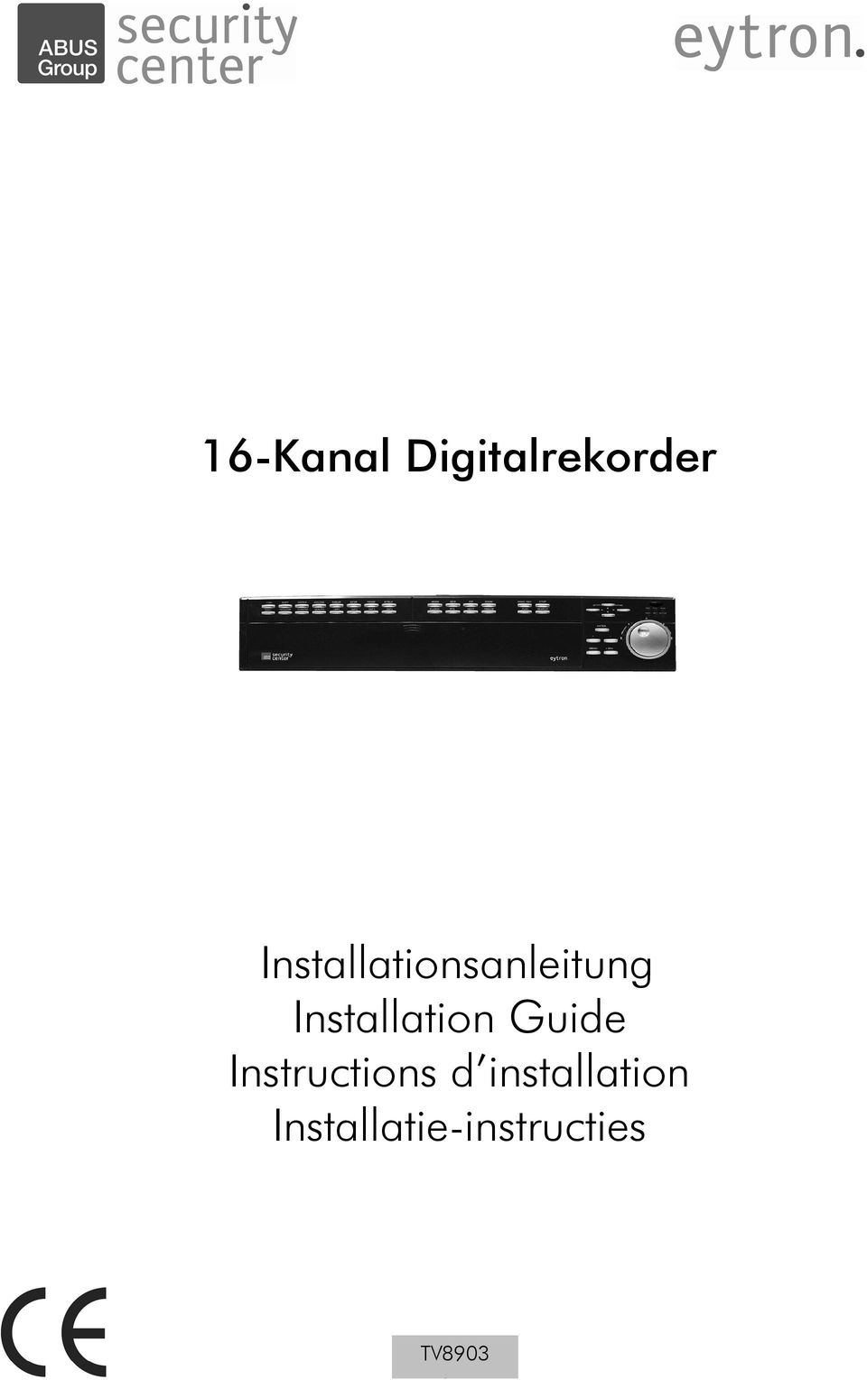 Installation Guide Instructions