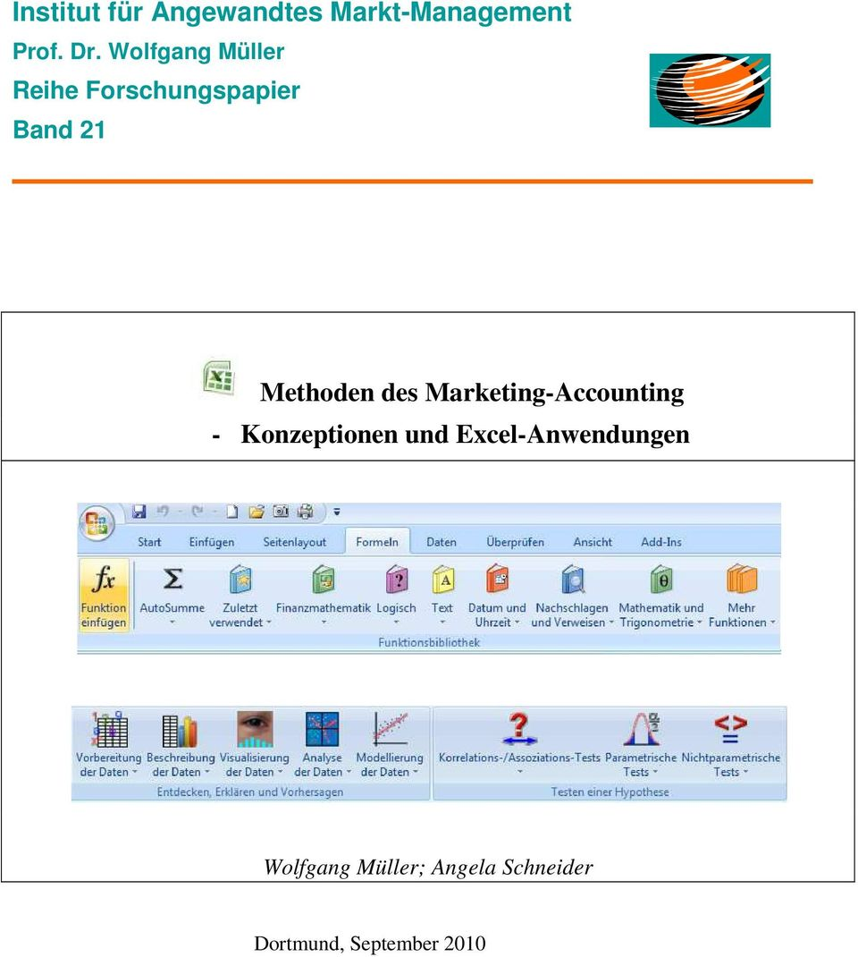 des Marketing-Accounting - Konzeptionen und