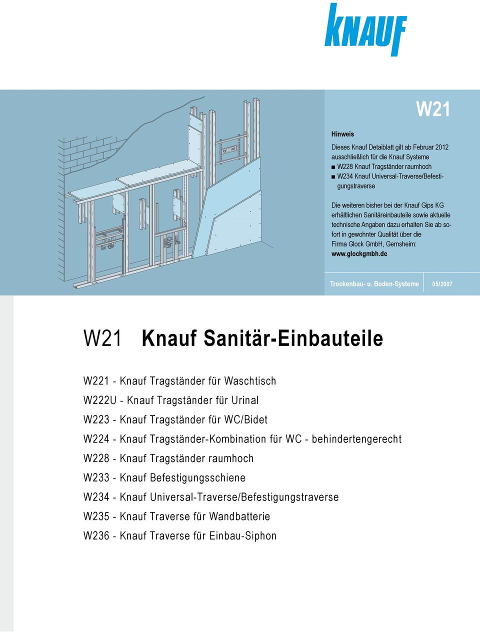 knauf installationswand w116 abdeckung ablauf dusche. Black Bedroom Furniture Sets. Home Design Ideas