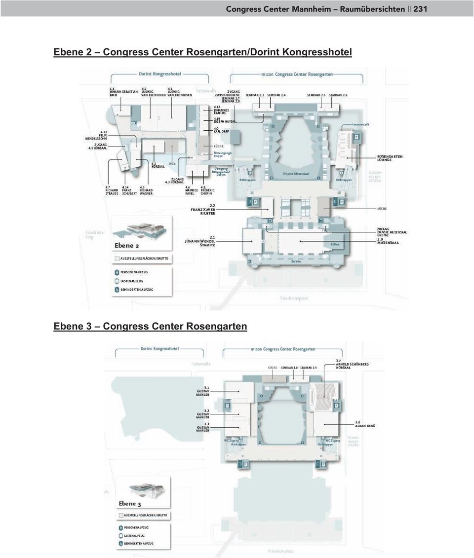 Congress Center Rosengarten/Dorint