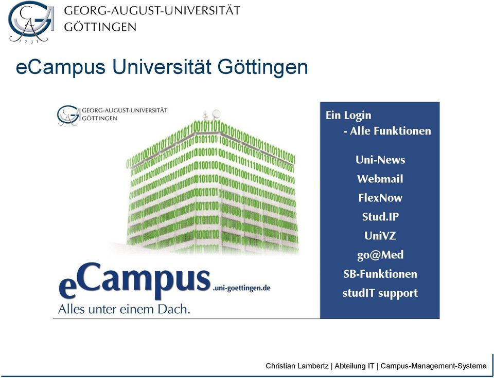 Campus-Management-Systeme Christian