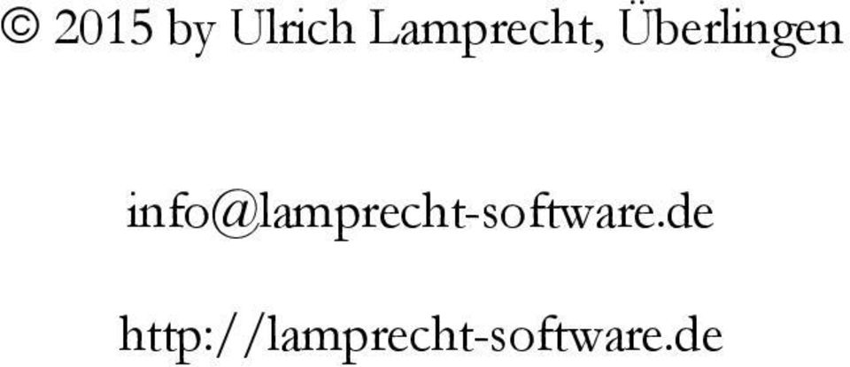 info@lamprecht-software.