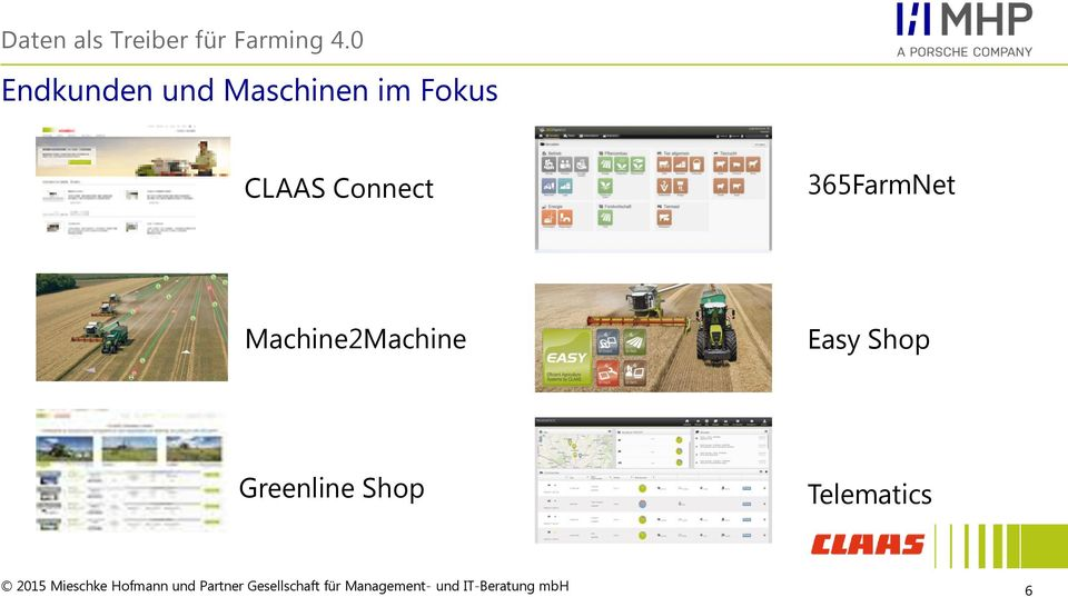 CLAAS Connect 365FarmNet