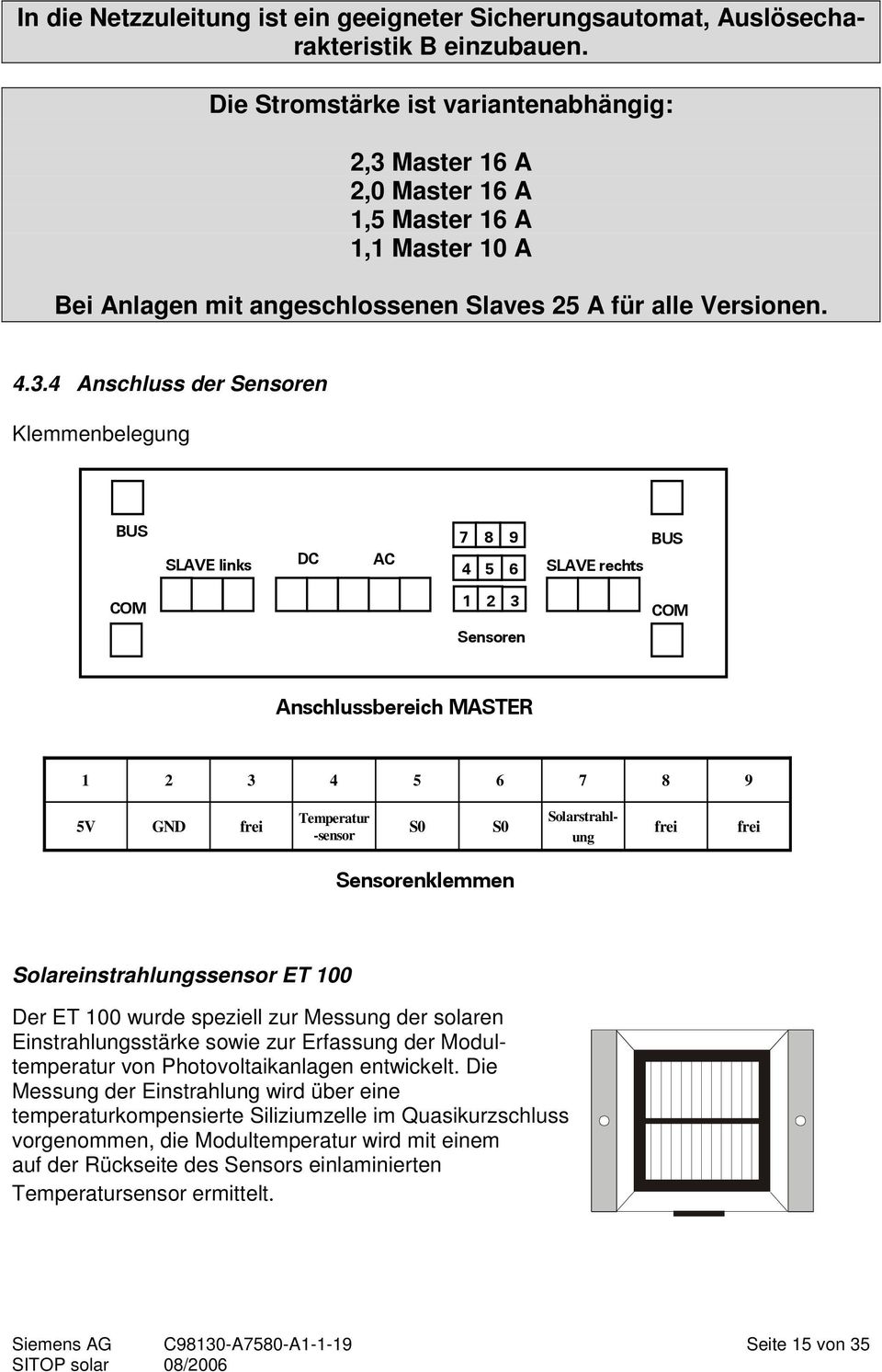 Allgemeines. Siemens AG 2006 All rights reserved - PDF