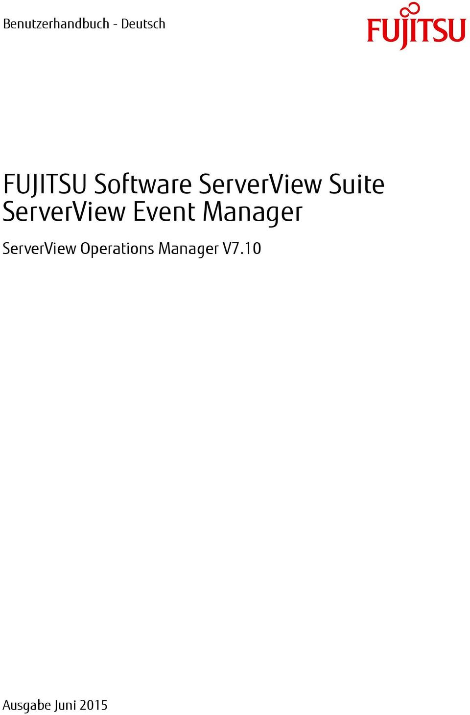 ServerView Event Manager