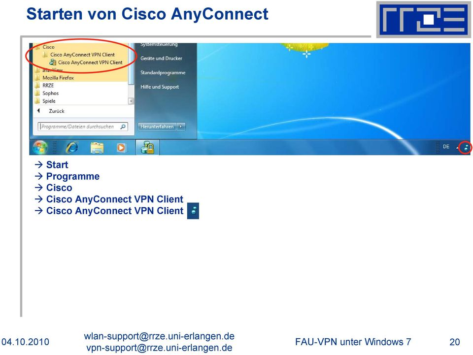 AnyConnect VPN Client Cisco