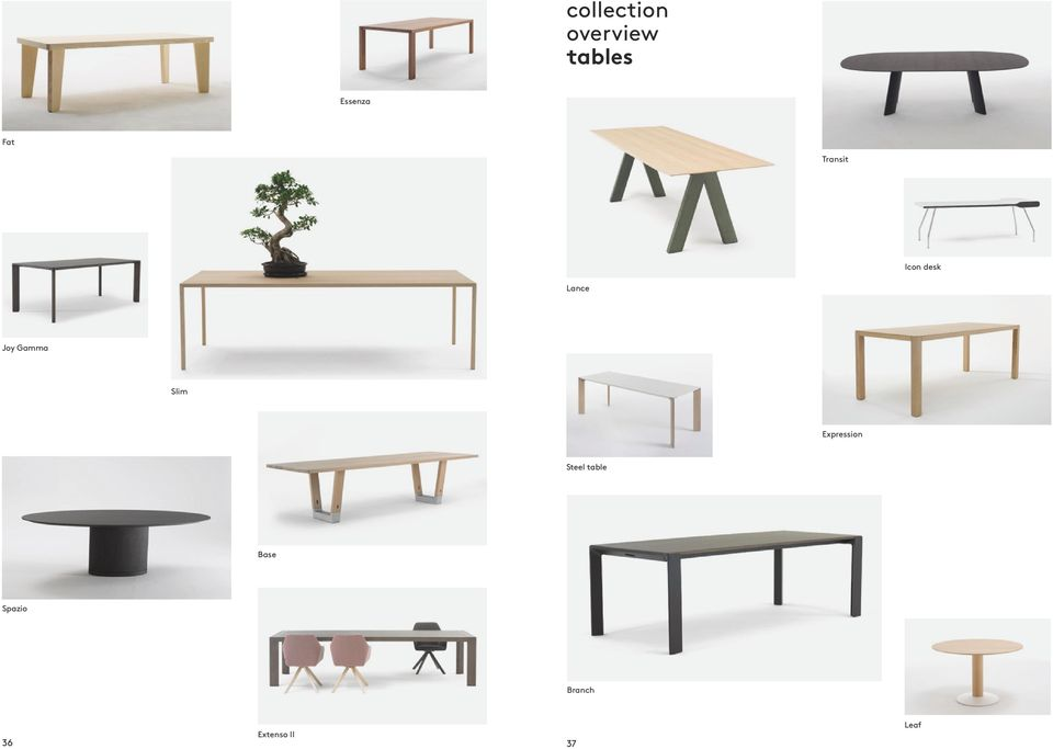 Gamma Slim Expression Steel table