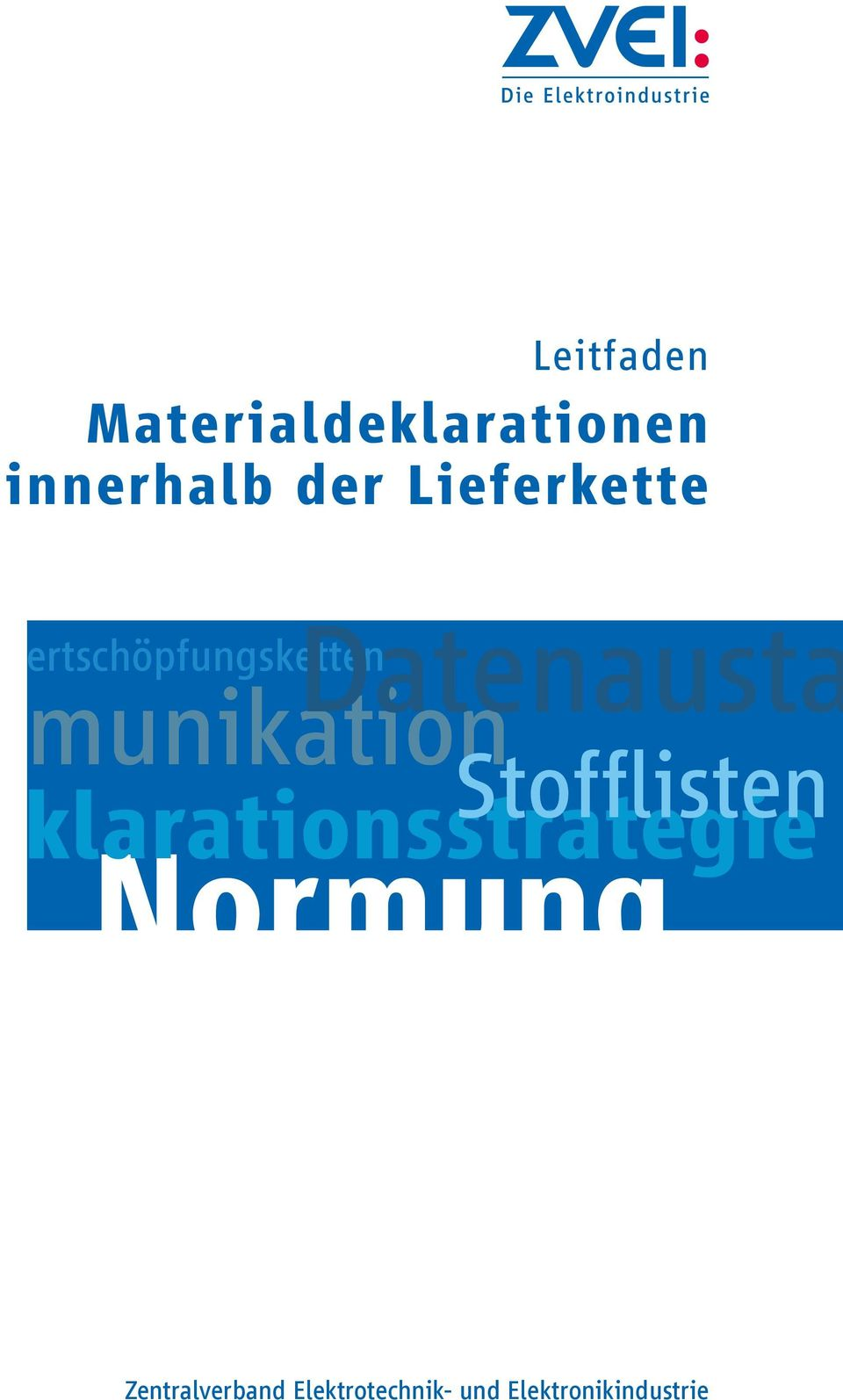 Datenausta Stofflisten klarationsstrategie