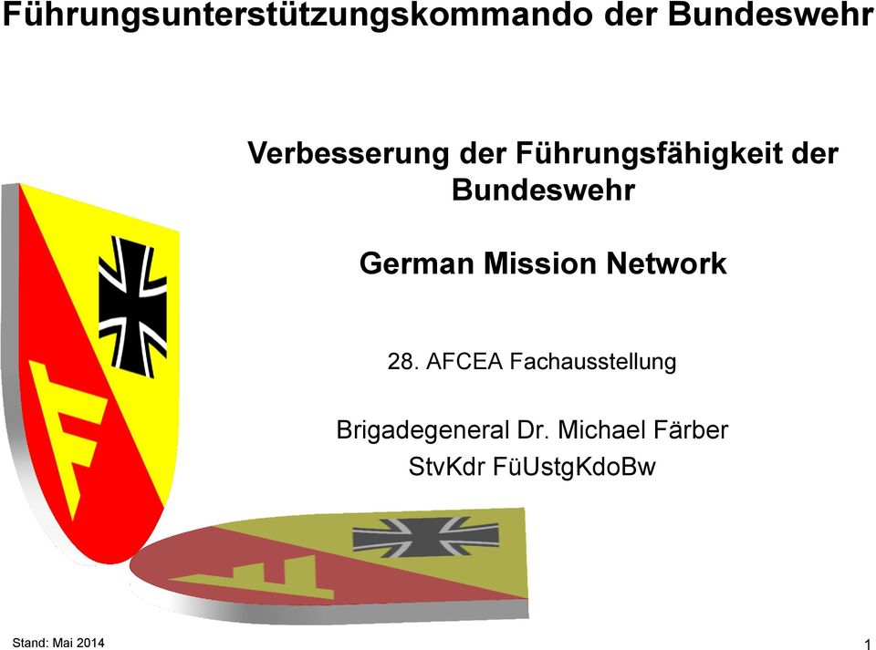 German Mission Network 28.