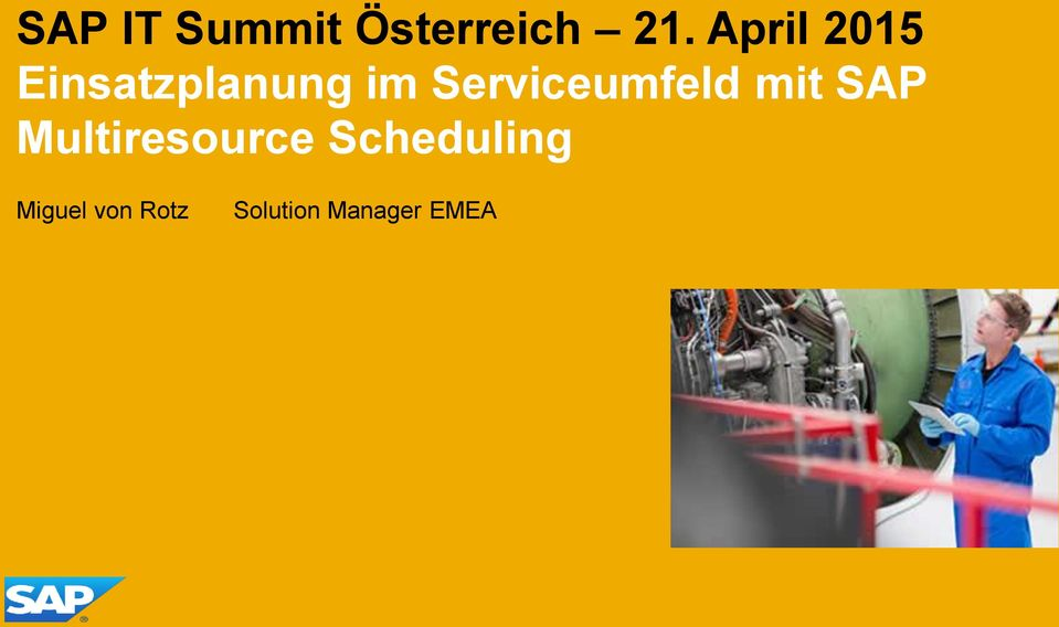 Serviceumfeld mit SAP Multiresource
