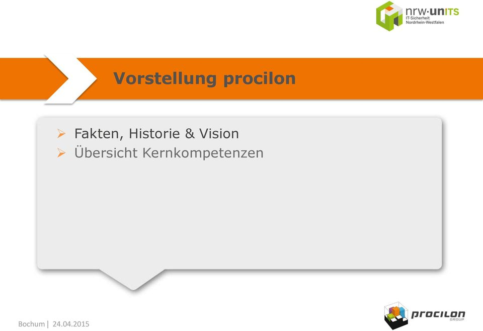 Historie & Vision