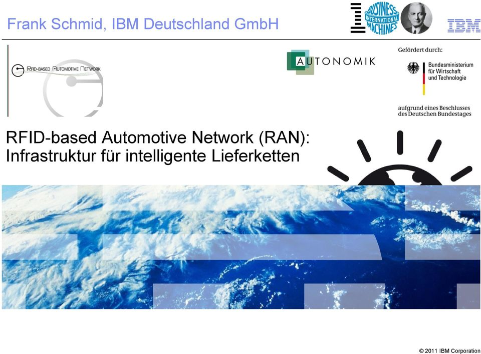 Automotive Network (RAN):