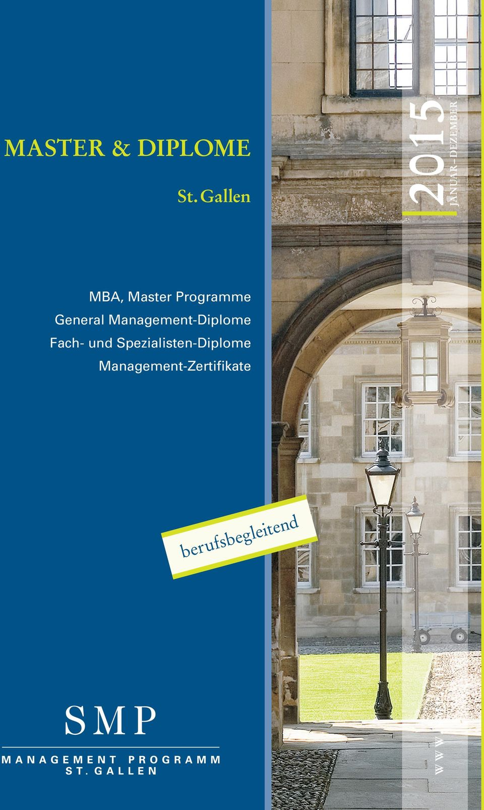 c H MBA, Master Programme General