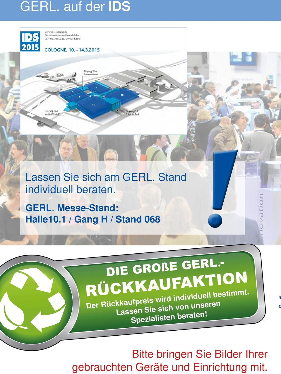 th International Dental Show COLOGNE, 10. 14.3.