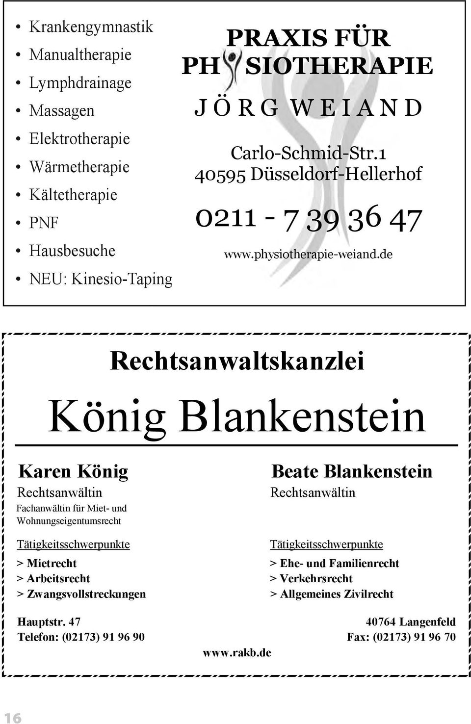 physiotherapie-weiand.