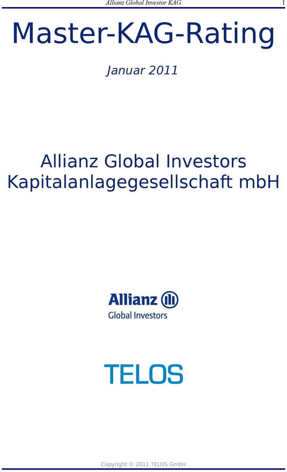 2011 Allianz Global