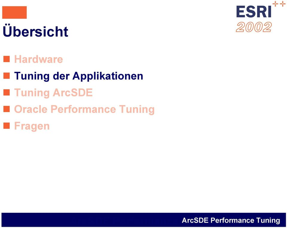 Applikationen Tuning