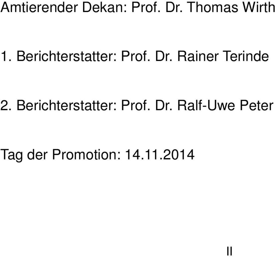 Dr. Rainer Terinde 2.