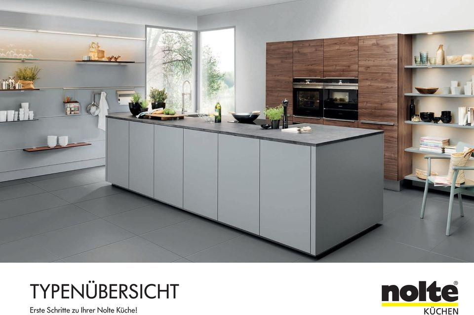 nolte kuechen gallery of nolte kche beton grifflos theke. Black Bedroom Furniture Sets. Home Design Ideas
