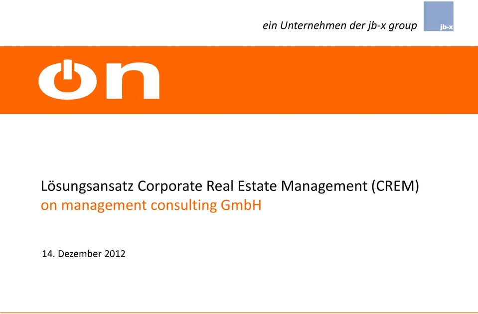 Estate Management (CREM) on