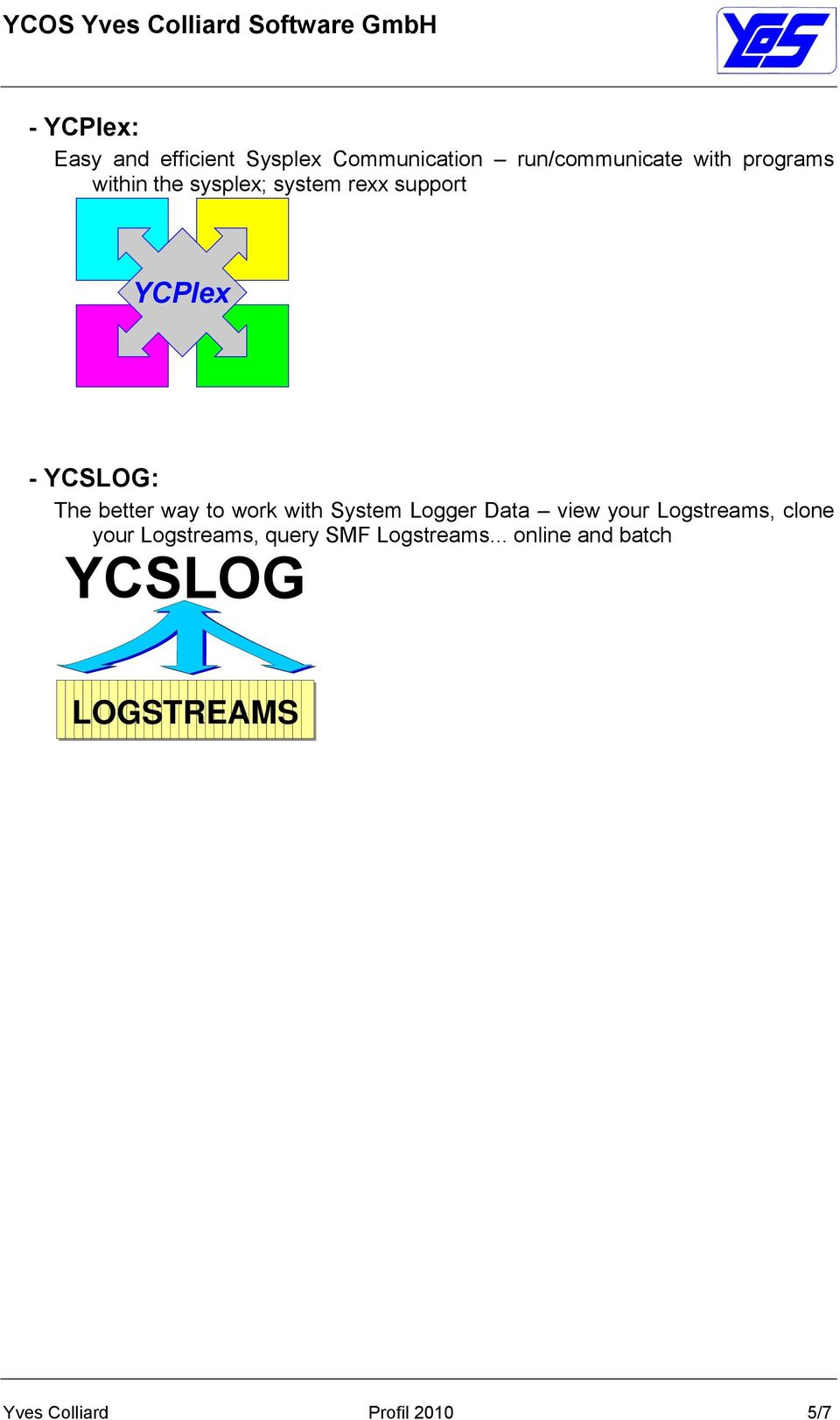 way to work with System Logger Data view your Logstreams, clone your