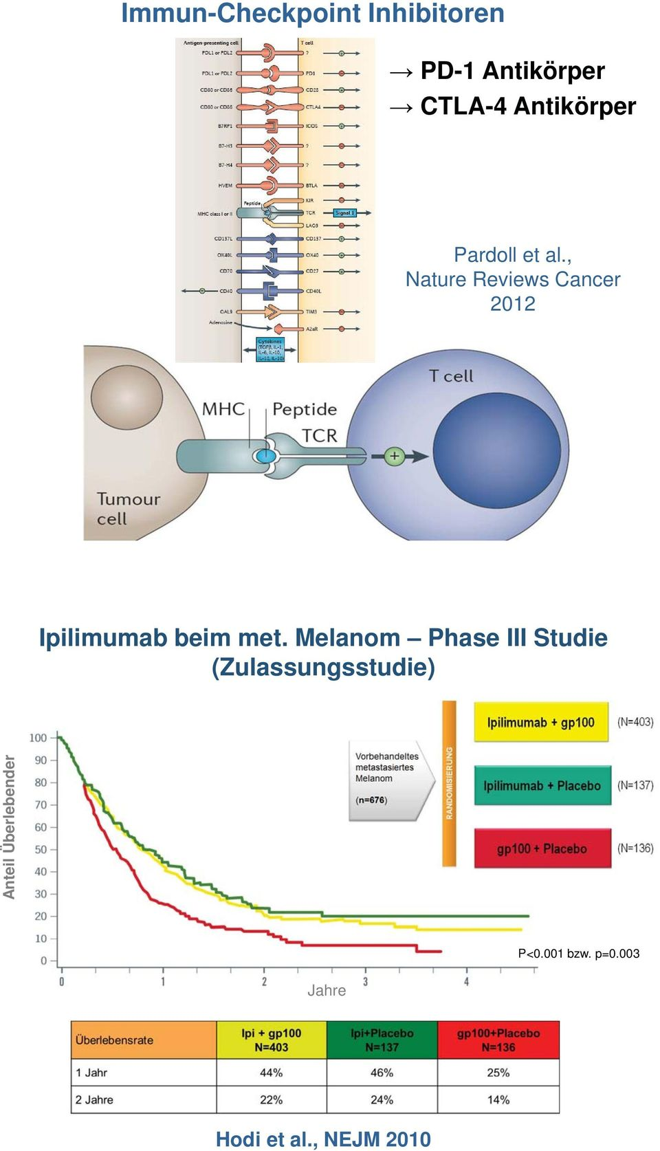 , Nature Reviews Cancer 2012 Ipilimumab beim met.