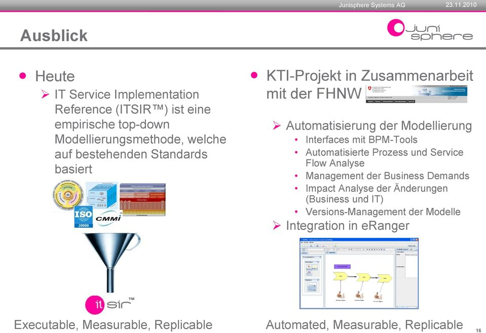BPM-Tools Automatisierte Prozess und Service Flow Analyse Management der Business Demands Impact Analyse der Änderungen