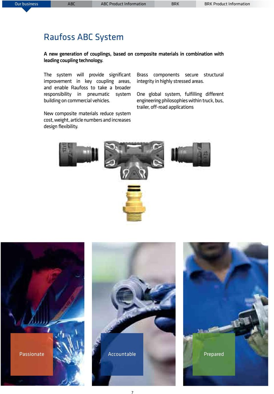 Vehicle Coupling System : Abc system product catalogue raufoss couplings kk