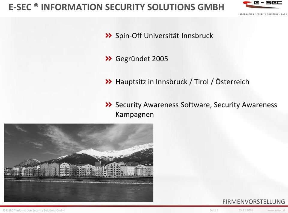 / Tirol / Österreich Security Awareness Software, Security