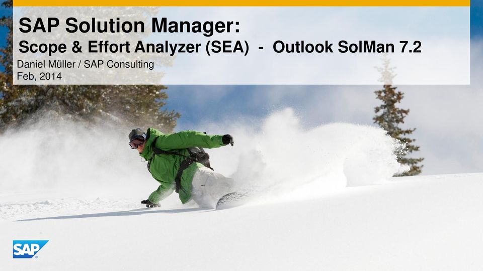 Outlook SolMan 7.