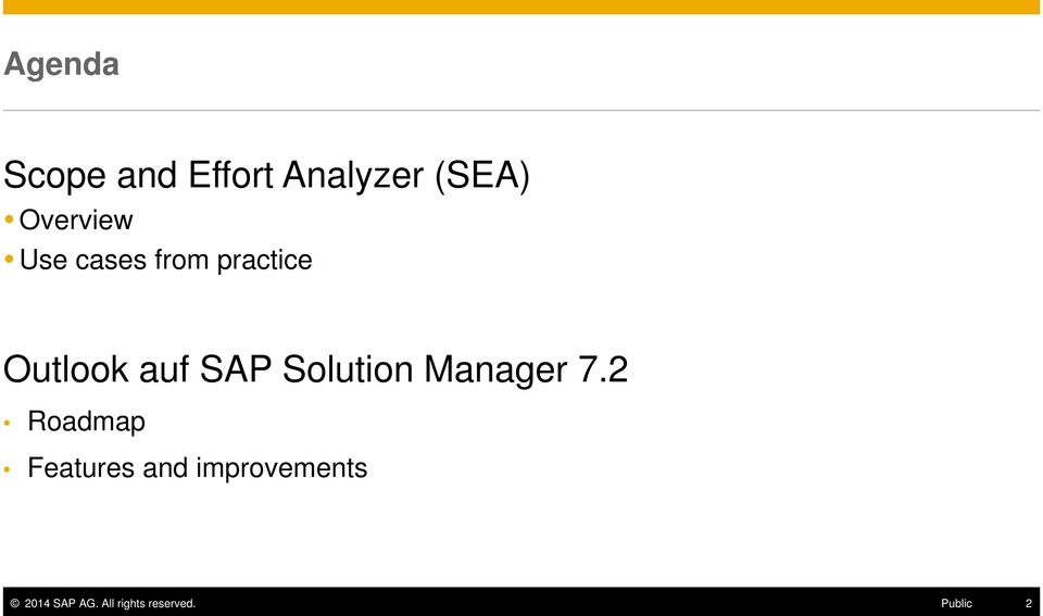 SAP Solution Manager 7.