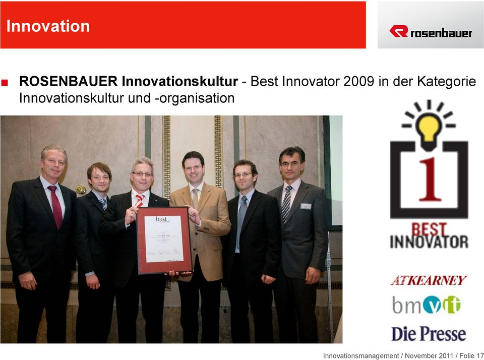 Innovationskultur und -organisation