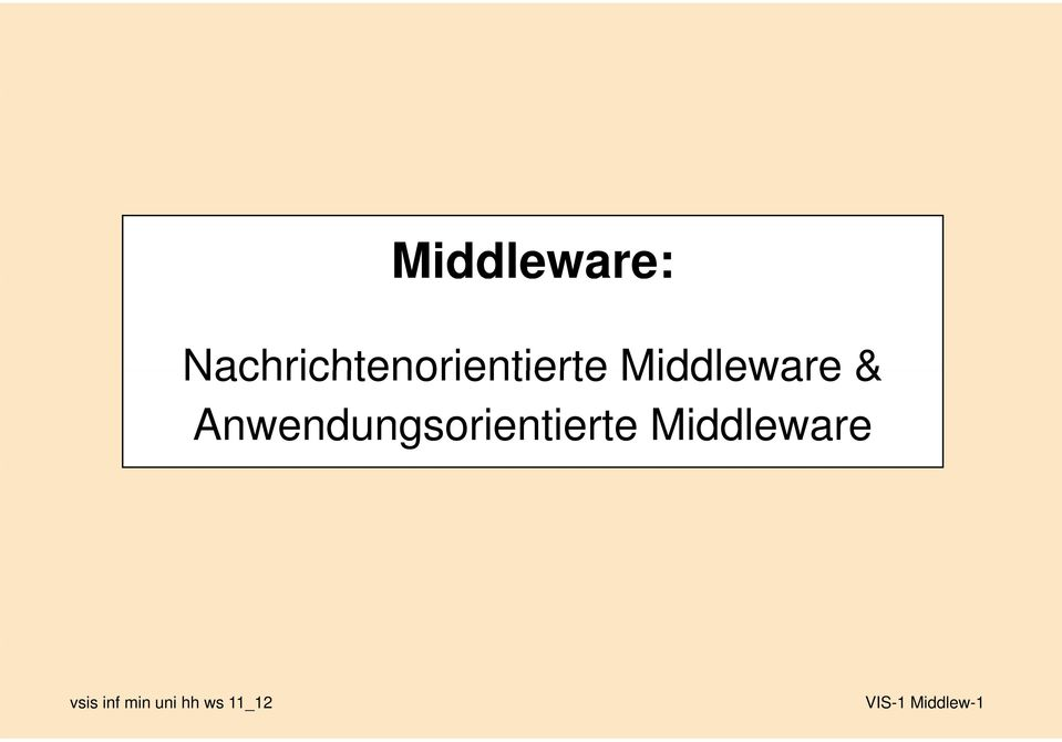 Middleware &