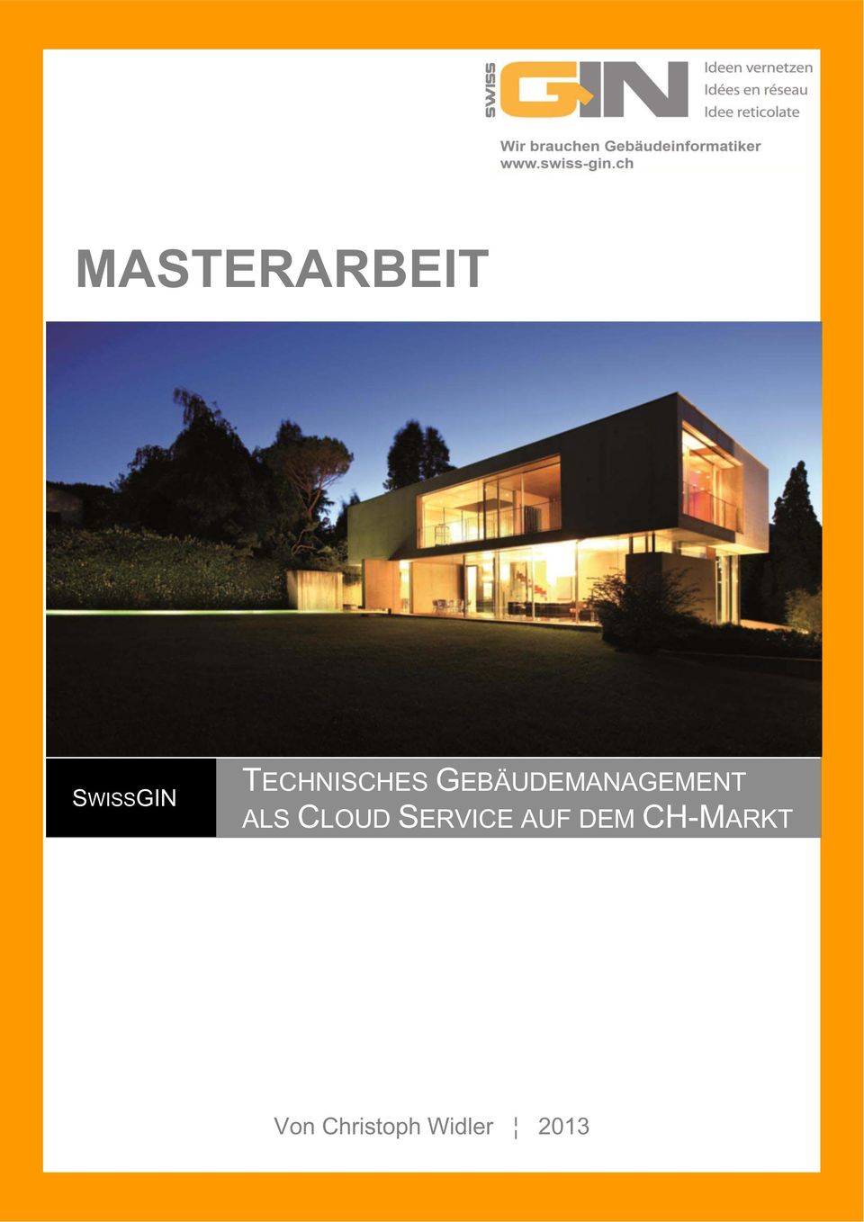 GEBÄUDEMANAGEMENT ALS CLOUD